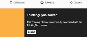Thinking Cleaner server